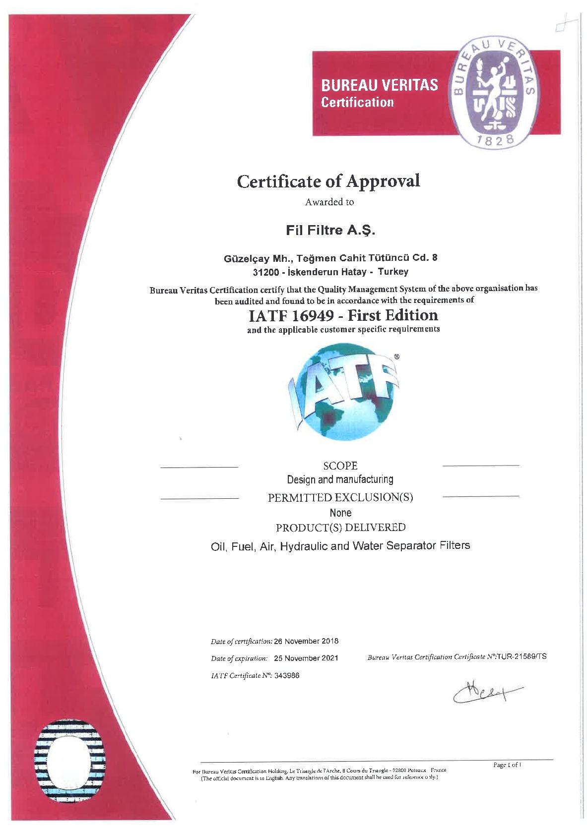IATF 16949 - First Edition