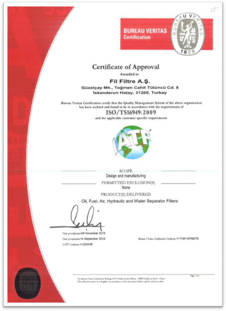 ISO / TS 16949:2009